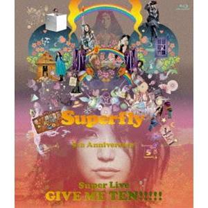 Superfly/GIVE ME TEN!!!!!(通常盤) [Blu-ray]|starclub