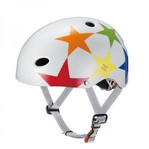 OGK FR-KIDS キッズ用ヘルメット スターホワイト