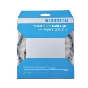 SHIMANO(シマノ) ロード用 PTFE シフトケーブルセット ハイテックグレー Y60098018|starcycletokyo-pro