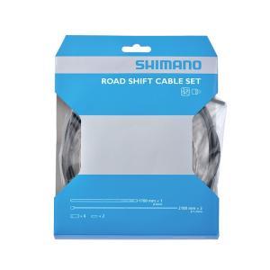 SHIMANO(シマノ) OT-SIS40 ROAD シフトケーブルセット ブラック Y60098501|starcycletokyo-pro