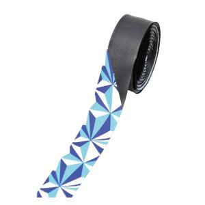 NOGUCHI NBT-005 ジオメトリックバーテープ ブラック/ブルー 015184|starcycletokyo-pro