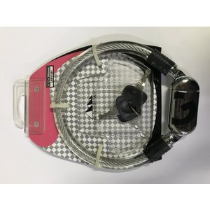 GIZA PRODUCTS(ギザプロダクツ) SD500 12x300mm クリアー(鍵3ヶ付属) LKW11601|starcycletokyo-pro