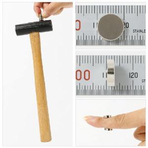 ネオジム磁石 ネオジウム磁石 1個バラ売り 10mm×3mm 丸型 超強力 マグネット ボタン型 N35|starfocus|03