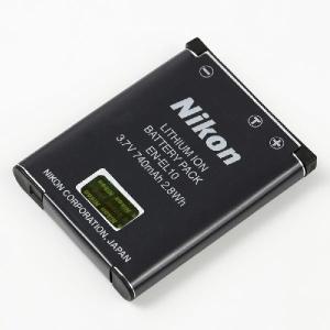 NIKON ニコン EN-EL10 純正 リチウムイオンバッテリー 充電池 ENEL10|starfocus
