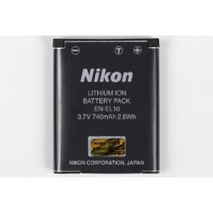 NIKON ニコン EN-EL10 純正 リチウムイオンバッテリー 充電池 ENEL10|starfocus|02