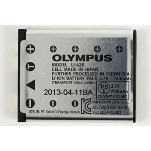 OLYMPUS オリンパス LI-42B 純正 リチウムイオン充電池 バッテリー【輸入版】 LI42B|starfocus|02