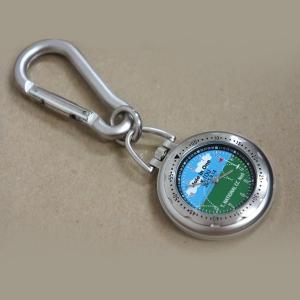 「カラビナ時計」オリジナル時計 ホールインワン 達成記念 スポーツ記念 名入れ  父の日|starkids