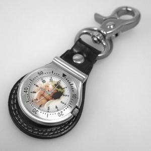 写真 時計「キーホルダー時計」写真文字盤  名入れ オリジナル 記念品 誕生日 新築祝い 結婚祝い 還暦 退職祝い 周年記念 贈り物|starkids