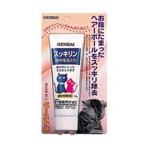現代製薬株式会社 スッキリン(動物用医薬部外品) 毛玉とり・猫用 50g|starlive