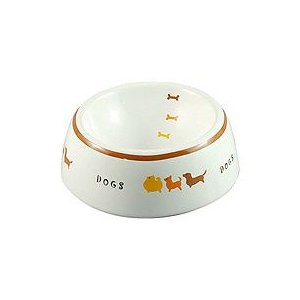 MARUKAN CO.,LTD 犬用陶器食器 犬の行進S 約150ml×24個 starlive