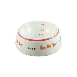 MARUKAN CO.,LTD 犬用陶器食器 犬の行進M 約270ml×12個 starlive