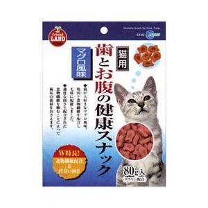 MARUKAN CO.,LTD 歯とお腹の健康スナック マグロ味 80g|starlive