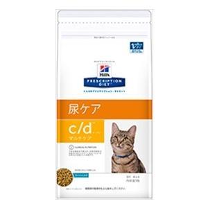 ヒルズ プリスクリプションダイエット 猫用 c/d マルチケア フィッシュ入り 2kg×4袋|starlive