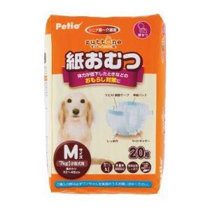 ペティオ 老犬介護用 紙おむつ M 20枚