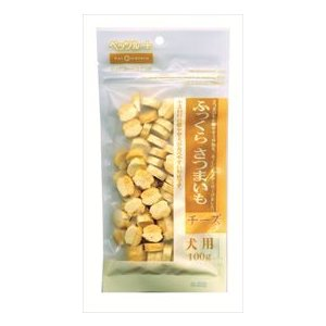 (株)ペッツルート ふっくらさつまいも チーズ  100g×6袋