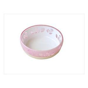 (株)ペッツルート おいしく見えるニャン食器 ミニ ピンク ローズ|starlive