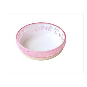 (株)ペッツルート おいしく見えるニャン食器 S ピンク ローズ|starlive