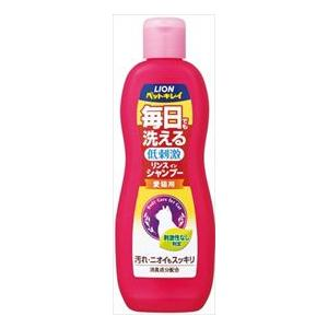 ライオン商事 ペットキレイ 毎日でも洗える リンスインシャンプー 愛猫用 330ml|starlive