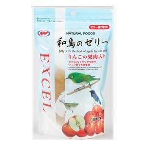 ナチュラルペットフーズ株式会社 エクセル 和鳥のゼリー りんごの果肉入り 10個 鳥用×30袋|starlive