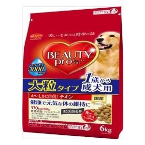 日本ペットフード ビューティープロ ドッグ 1歳から 成犬用 大粒タイプ 6kg