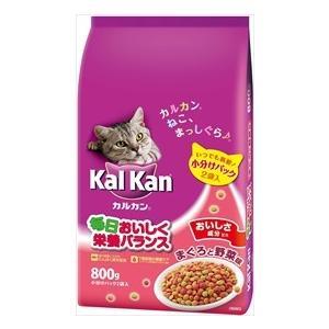 通常3-7営業日発送【MARS japan】カルカンドライ まぐろと野菜味 800g 成猫に合わせた...