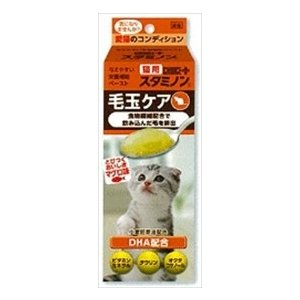 アース・バイオケミカル 猫用 チョイスプラス スタミノン 毛玉ケア 30g|starlive