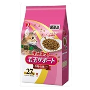 ペットライン キャネットチップ 毛玉サポート お肉お魚ミックス 2.7kg×5袋