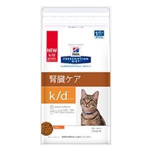 通常2-5日発送【ヒルズ】プリスクリプションダイエット 猫用 k/d 4kg×4袋 ●腎疾患、心疾患