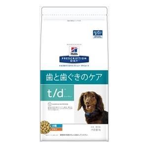 ヒルズ プリスクリプションダイエット 犬用 t/d 小粒 1kg×12袋×5