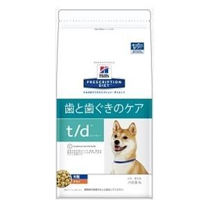 ヒルズ プリスクリプションダイエット 犬用 t/d 大粒 1kg×12袋×5