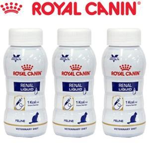 ロイヤルカナン 腎臓サポート リキッド 猫 200mL×3本(ベテリナリーダイエット ROYAL CANIN キャットフード 療法食)|starmall