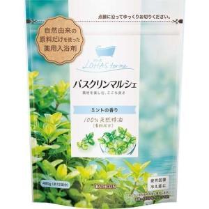バスクリンマルシェ ミントの香り 480g (医薬部外品)( バスクリン )|starmall