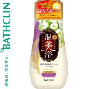 温美浴 入浴剤 リラクシングフラワーの香り 480g (医薬部外品) / バスクリン 温美浴|starmall