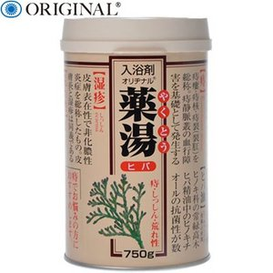 薬湯ヒバ 750g (医薬部外品) / オリヂナル|starmall