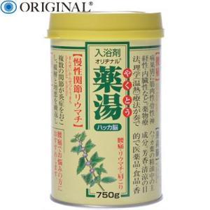 薬湯ハッカ脳 750g (医薬部外品) / オリヂナル|starmall