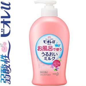 ビオレu お風呂で使ううるおいミルク フローラルの香り 300mL / 花王 ビオレu|starmall