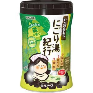 いい湯旅立ち にごり湯紀行 森の香り 600g (医薬部外品) / 白元アース いい湯旅立ち|starmall