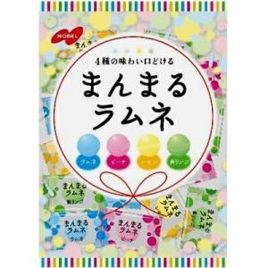 まんまるラムネ 80g×6 / ノーベル製菓