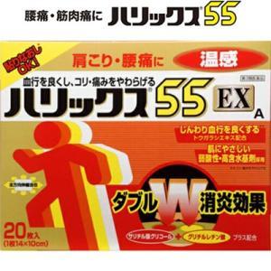 ライオン ハリックス55EX 温感 20枚 (第3類医薬品)|starmall