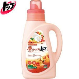 香りつづくトップ 抗菌プラス 柔軟剤入り洗濯洗剤 スウィートハーモニー 850g *ライオン トップ|starmall