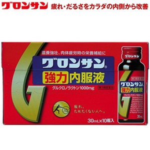 ライオン グロンサン強力内服液 30mL×10本 (第3類医薬品)|starmall