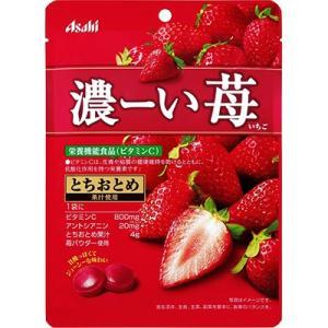 濃ーい苺 84g (アサヒグループ食品)|starmall