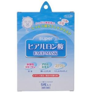東京企画販売 トプラン スーパーヒアルロン酸 フェイスマスク 5枚