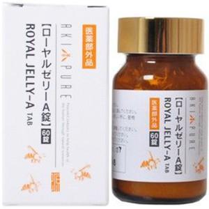ローヤルゼリーA錠 60錠 (医薬部外品) / 日本養蜂|starmall