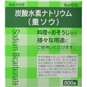 炭酸水素ナトリウム(重ソウ) 500g / 大洋製薬 starmall
