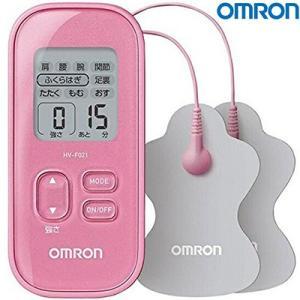 低周波治療器 HV-F021-PK ピンク 1台 【 オムロン 】[ お灸/もぐさ/磁気治療器/ツボ...