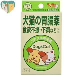 犬猫の胃腸薬 6包 (動物用医薬品) / 内外製薬|starmall