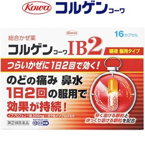 興和新薬 コルゲンコーワIB2 16カプセル (指定第2類医薬品)|starmall