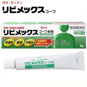 興和新薬 リビメックスコーワ 軟膏 5g (指定第2類医薬品)|starmall