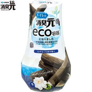 トイレの消臭元 心がなごむ炭の香り 400mL / 小林製薬 消臭元